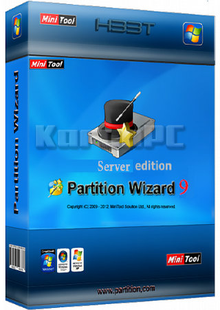 MiniTool Partition Wizard professional 9.1 + Key