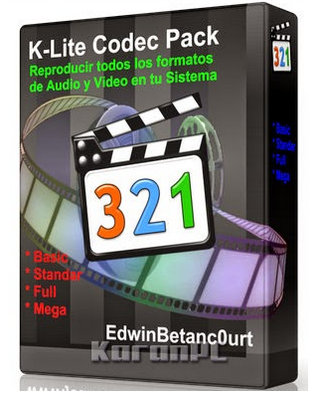 k lite codec pack full mega standard free download latest. Black Bedroom Furniture Sets. Home Design Ideas
