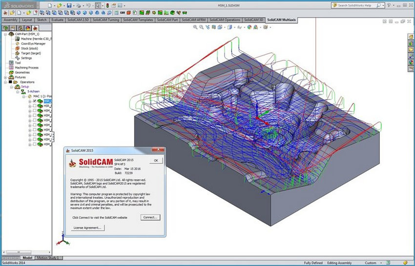 SolidCAM 2015 for SolidWorks