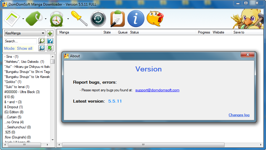 DomDomSoft Manga Downloader Crack