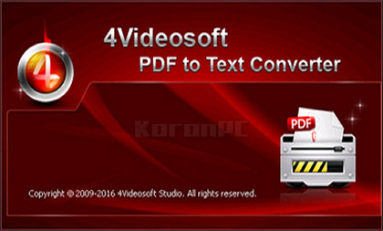 4Videosoft PDF to Text Converter 3
