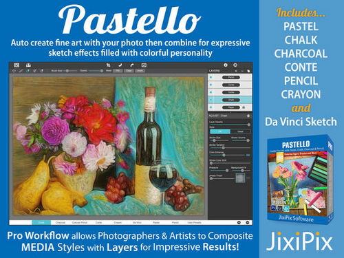 JixiPix Software Pastello