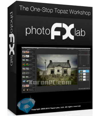 Topaz photoFXlab 1.2.10 [Latest]